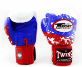 Twins Boxing Gloves - Russia Flag - Twins Boxing Gloves & Muay Thai Gloves - Red, White, Blue