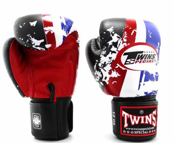 Twins Thailand Signature Boxing Gloves - Velcro Wrist