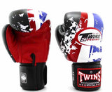 Twins Thailand Signature Boxing Gloves - Velcro Wrist - Image 1