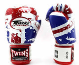 Twins United-Kingdom Signature Boxing Gloves - Velcro Wrist - Image 2