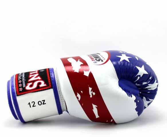 Twins United-States Signature Boxing Gloves - Velcro Wrist - Image 3