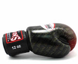 Twins Red Signature Boxing Gloves - Velcro Wrist - Image 3