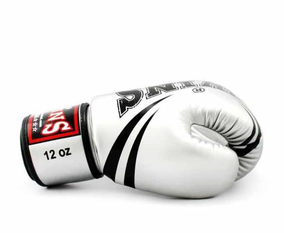 Twins Boxing Gloves - Signature - Twins Boxing Gloves & Muay Thai Gloves -  Classic Tones - Gold, Grey, Silver