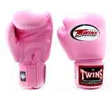 Pink Twins Boxing Gloves - Velcro Wrist - Image 2
