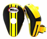Twins Black-Yellow Thai Pads- Kicking, MMA, Muay Thai - Image 2