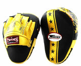 Twins Gold Signature Focus Mitts- Punching, Boxing, MMA, Muay Thai - Image 1