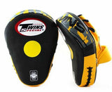 Twins Black-Yellow Focus Mitts- Punching, Boxing, MMA, Muay Thai - Image 2