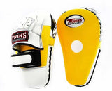 Twins Punching Mitts - Twins Boxing, MMA & Muay Thai - Yellow, White