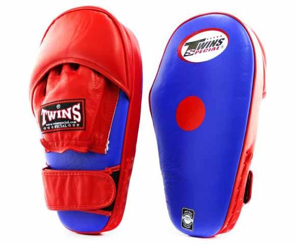 Twins Blue-Red Focus Mitts- Punching, Boxing, MMA, Muay Thai - Image 1