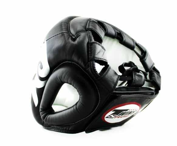Twins Silver-Black Signature Headgear- Boxing, MMA, Muay Thai - Image 3