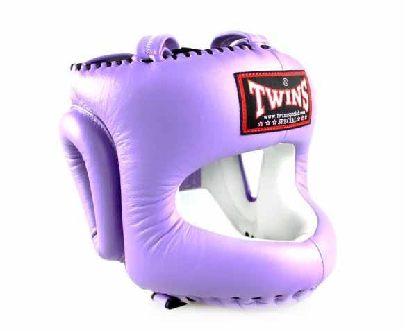 Twins Lavender Headgear- Boxing, MMA, Muay Thai - Image 2