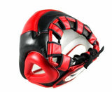 Twins Black-Red Headgear- Boxing, MMA, Muay Thai - Image 3