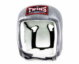 Twins Grey Headgear- Boxing, MMA, Muay Thai - Image 1