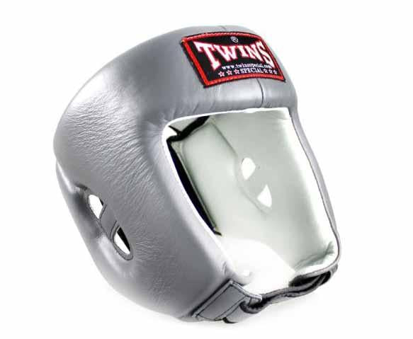 Twins Grey Headgear- Boxing, MMA, Muay Thai - Image 2
