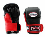 Twins Black-Red Signature Training Gloves- Punching, Boxing, Martial Arts, MMA, Muay Thai - Image 1