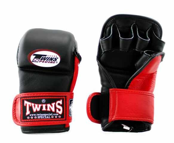 Twins Black-Red Signature Training Gloves- Punching, Boxing, Martial Arts, MMA, Muay Thai