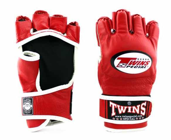 Twins Red Signature Training Gloves- Punching, Boxing, Martial Arts, MMA, Muay Thai - Image 1