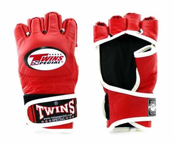 Twins Red Signature Training Gloves- Punching, Boxing, Martial Arts, MMA, Muay Thai