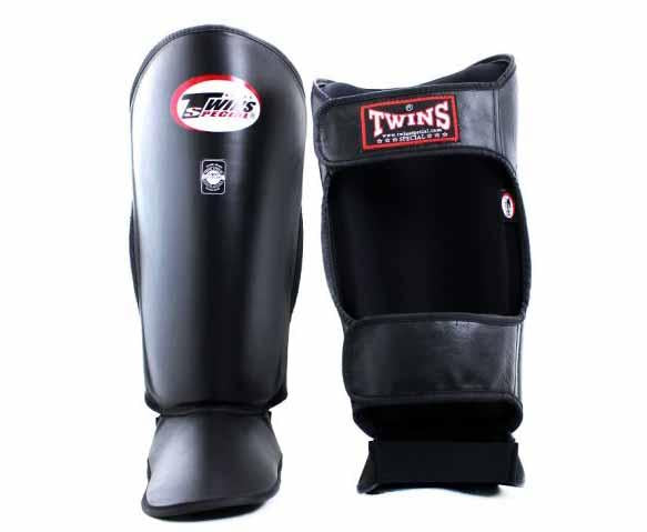 Twins Black Shin Guards- Kicking, Martial Arts, MMA, Muay Thai - Image 2