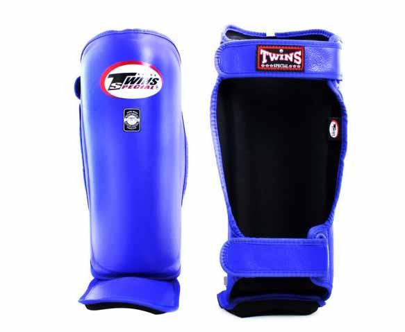 Twins Blue Shin Guards- Kicking, Martial Arts, MMA, Muay Thai - Image 2