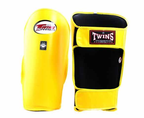 Twins Yellow Shin Guards- Kicking, Martial Arts, MMA, Muay Thai - Image 2