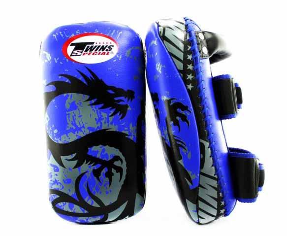 Twins Black-Blue Signature Thai Pads- Kicking, MMA, Muay Thai - Image 2