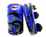 Twins Black-Blue Signature Thai Pads- Kicking, MMA, Muay Thai