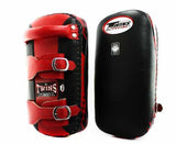 Twins Thai Pads - Buckle - Twins Muay Thai, Kicking, Martial Arts & MMA - Red, Black