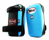 Twins Thai Pads - Velcro - Twins Muay Thai, Kicking, Martial Arts & MMA - Light Blue, Black