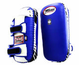 Twins Blue-White Thai Pads- Kicking, MMA, Muay Thai - Image 1