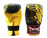 Twins Yellow-Black Signature Training Gloves- Punching, Boxing, Martial Arts, MMA, Muay Thai - Image 1