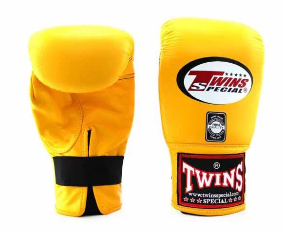 Twins Yellow Training Gloves- Punching, Boxing, Martial Arts, MMA, Muay Thai - Image 1