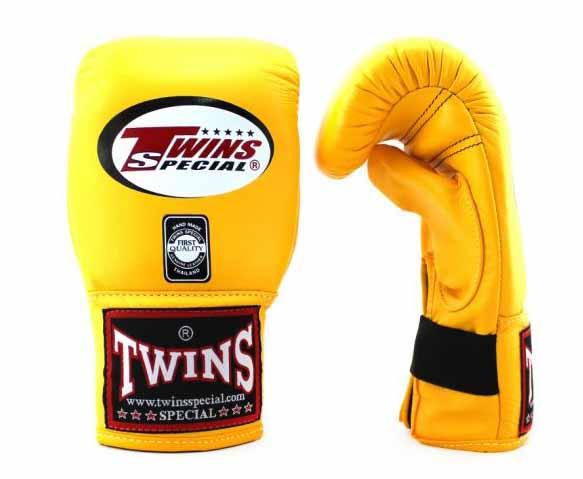 Twins Yellow Training Gloves- Punching, Boxing, Martial Arts, MMA, Muay Thai - Image 2