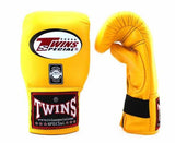 Twins Yellow Training Gloves- Punching, Boxing, Martial Arts, MMA, Muay Thai
