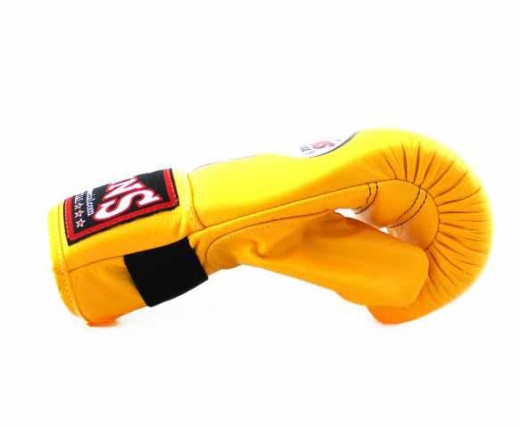 Twins Yellow Training Gloves- Punching, Boxing, Martial Arts, MMA, Muay Thai - Image 3