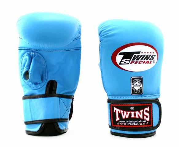 Twins Light Blue Training Gloves- Punching, Boxing, Martial Arts, MMA, Muay Thai