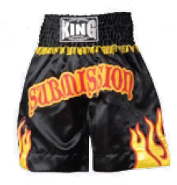 KING Boxing Trunks Satin 002