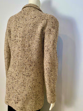 Load image into Gallery viewer, Chanel vintage 99A, 1999 Fall Brown Tweed Long Jacket subtle sparkle FR 40 US 6/8