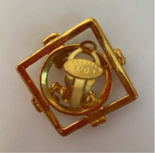 Load image into Gallery viewer, 1980 Collection 29 Chanel Vintage Cut Out Oversized Gold Plated CC Logo Clip On Earrings