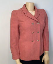 Load image into Gallery viewer, Vintage Chanel 98P, 1998 Spring Mauve Pink jacket blazer US 10/12