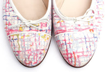 Load image into Gallery viewer, Chanel fabric multicolor ballet ballerina flats EU 38