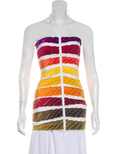 Load image into Gallery viewer, Chanel 2014 Spring Resort Cruise RTW Colorama swim Top FR 34 US 2/4