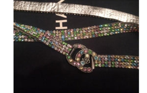 Chanel 05A MultiColor CC Strass Swarovski crystal Belt