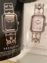 "Load image into Gallery viewer, Vintage ""The Chanel Watch Collection"" 2006 hardcover book catalog"