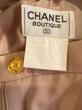 Load image into Gallery viewer, Vintage Chanel Boutique 97P, 1997 Spring Beige Blush Pants FR 36 US 4
