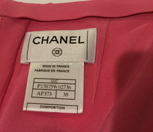 Load image into Gallery viewer, Chanel Vintage 01C Cruise Resort Silk Pink Skirt FR 38 US 4
