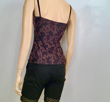 Load image into Gallery viewer, Vintage Chanel Logo Black Camisole Spaghetti Strap Tank Top FR 34 US 2/4