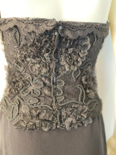 Load image into Gallery viewer, Vintage Chanel 95A, 1995 Fall Embroidered Lace Halter Evening Top Blouse US 4