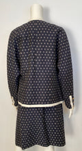 Load image into Gallery viewer, 1970's Collection 16 Rare Chanel Vintage Navy Blue Skirt Suit FR 44