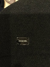 Load image into Gallery viewer, Chanel Vintage 04A Fall long black sleeveless wool gown dress FR 40 US 4